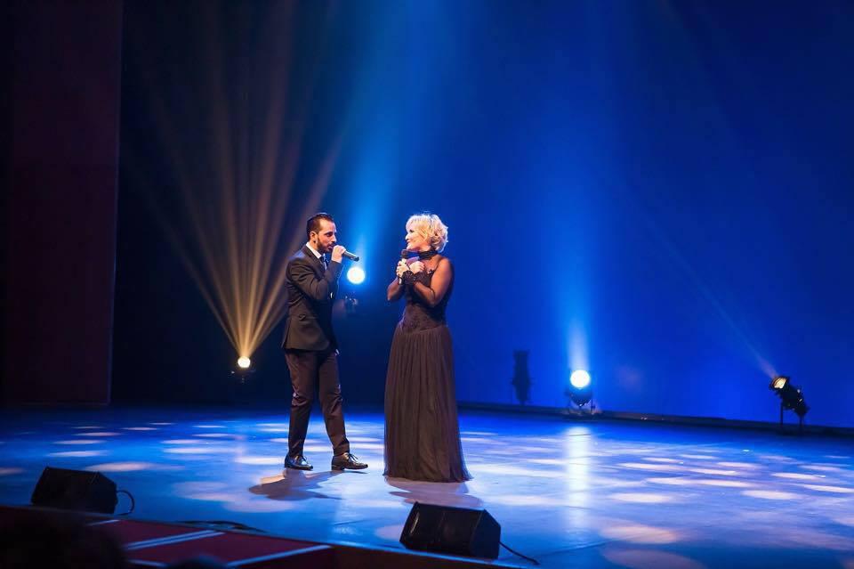 Cantando »La Favola» con Enzo Amos